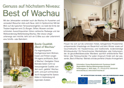 Best of Wachau 2013